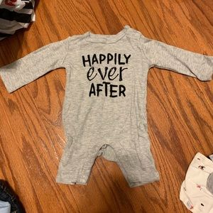 Happily ever after onesie